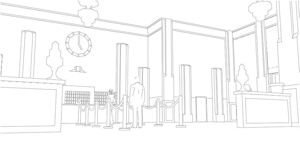 Exemple d'un des visuels créé dans SketchUp.