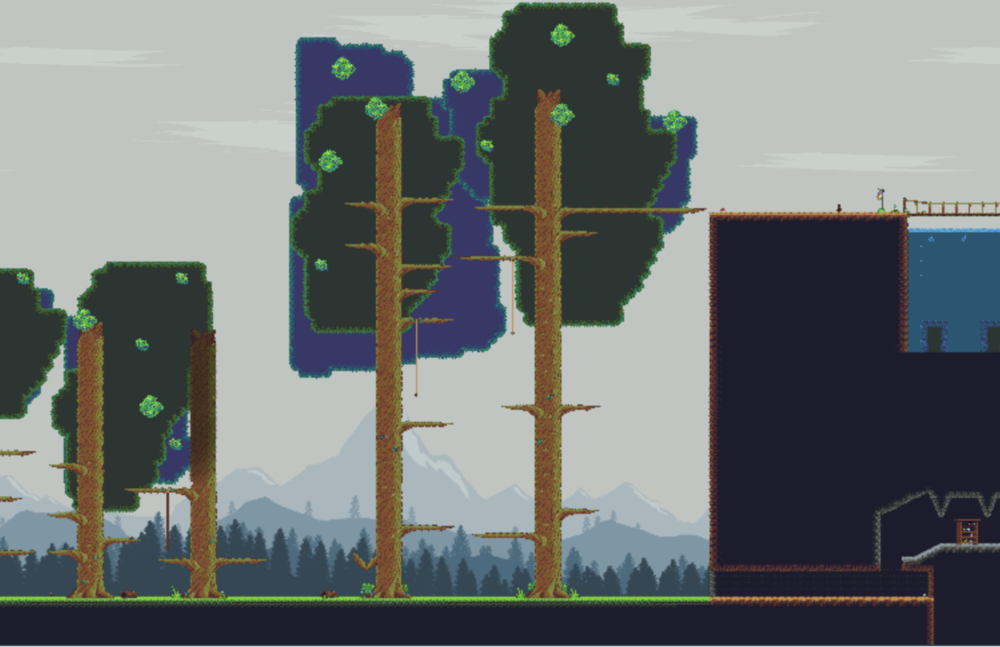 Appia - Document de Level Design pour un niveau. Modèle 2D conçu dans Tiled et Unity.