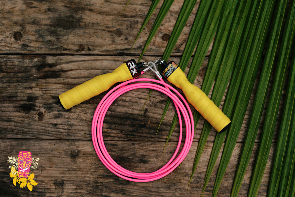 $250  - Earn this customized RX Smart Gear Jump Rope