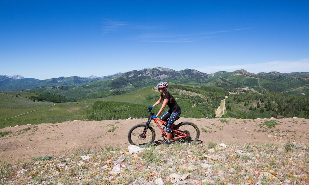 How Learning to Mountain Bike Pushed Me to Make a Big Life Change - Shape