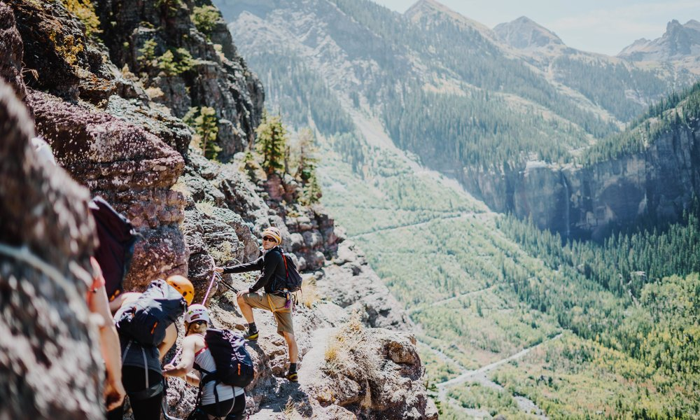 I Climbed Telluride's Via Ferrata — And It Completely Changed My Perspective on Fear - She Explores