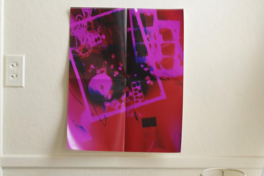 printed 2012, folded 2014
