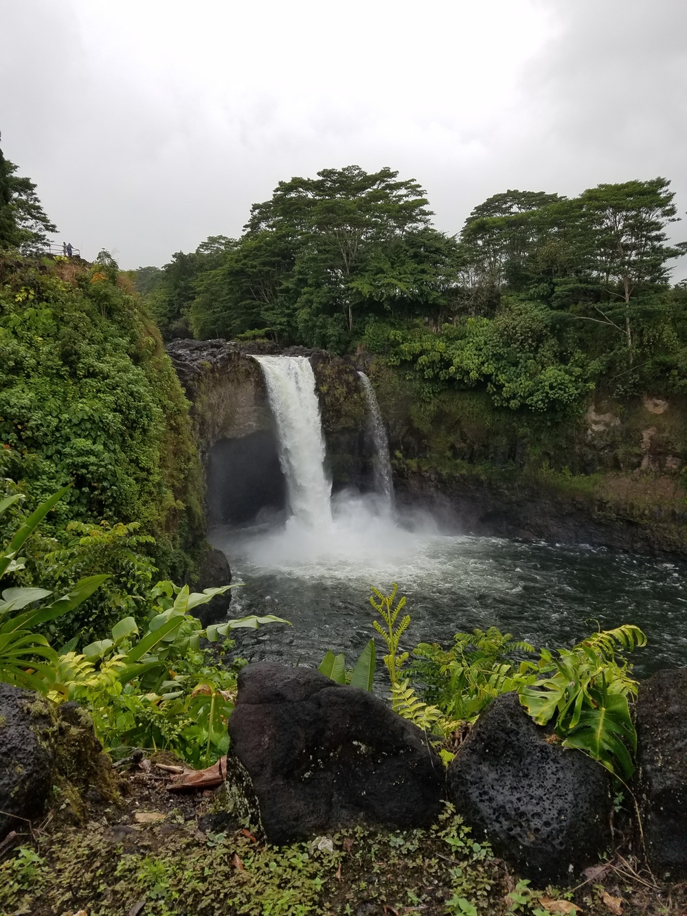Rainbow Falls, in Hilo, Hawaii
