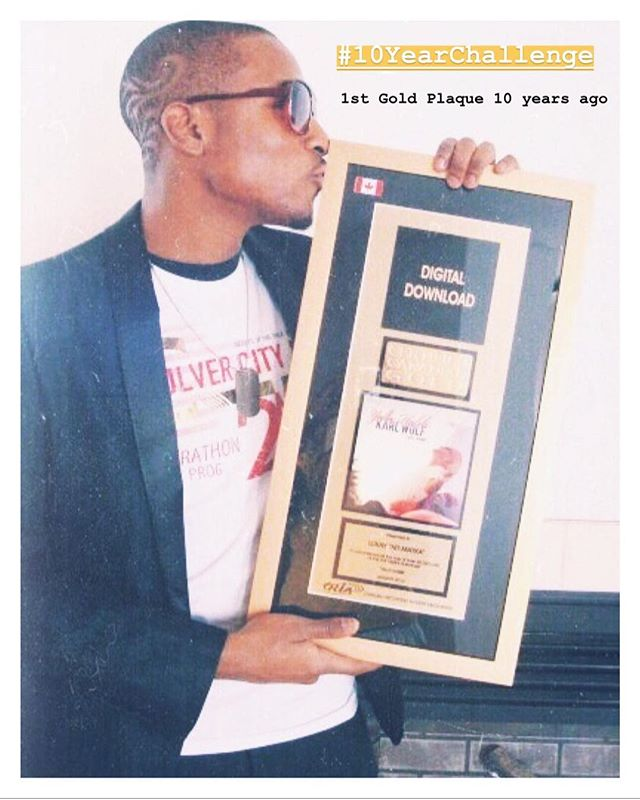 My 1st Gold Plaque 10 years ago. Time goes by way too fast lol 😩⚡️⚜️ . . . #Lukay #Lukaymusic #igdaily #photooftheday #EMI #GoldPlaque #10YearChallenge #TBT