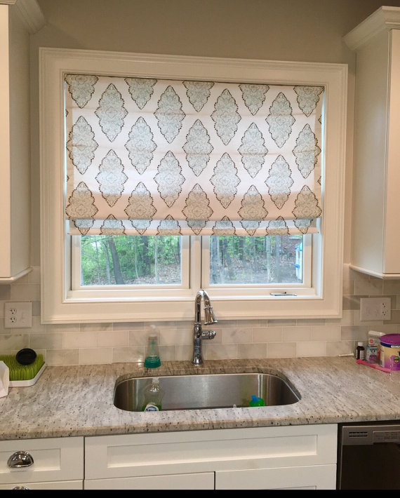 Beautiful Custom Roman Shades Home Decorsew Lovely By
