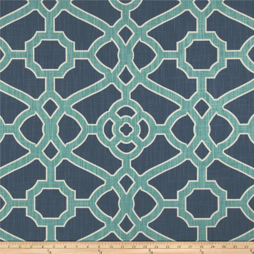 Fretwork Fabric