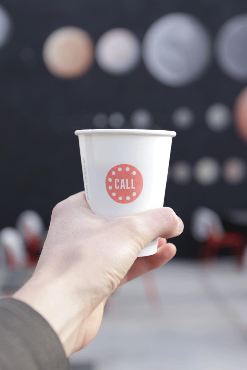 Call Denver Restaurant Branding_To Go Cup Design