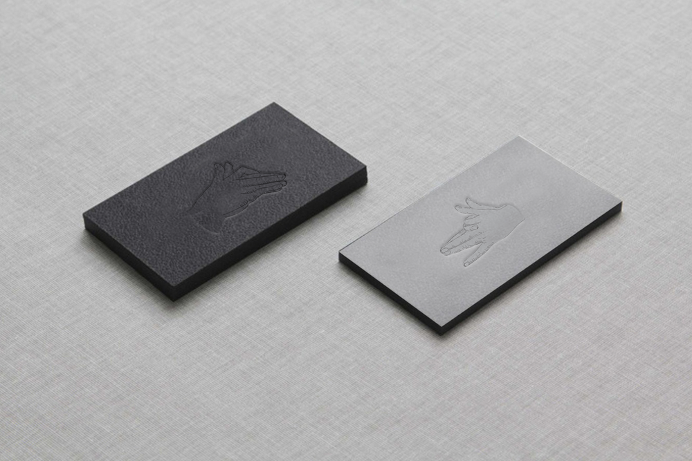 The Wolf's Tailor Custom Business Card Concept