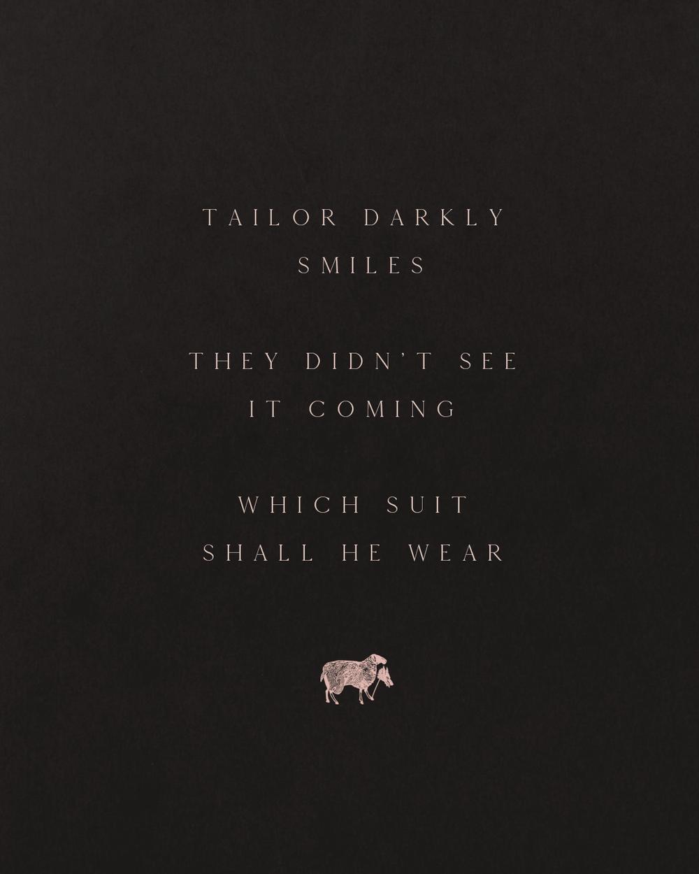 Copywriting – The Wolf's Tailor Haiku