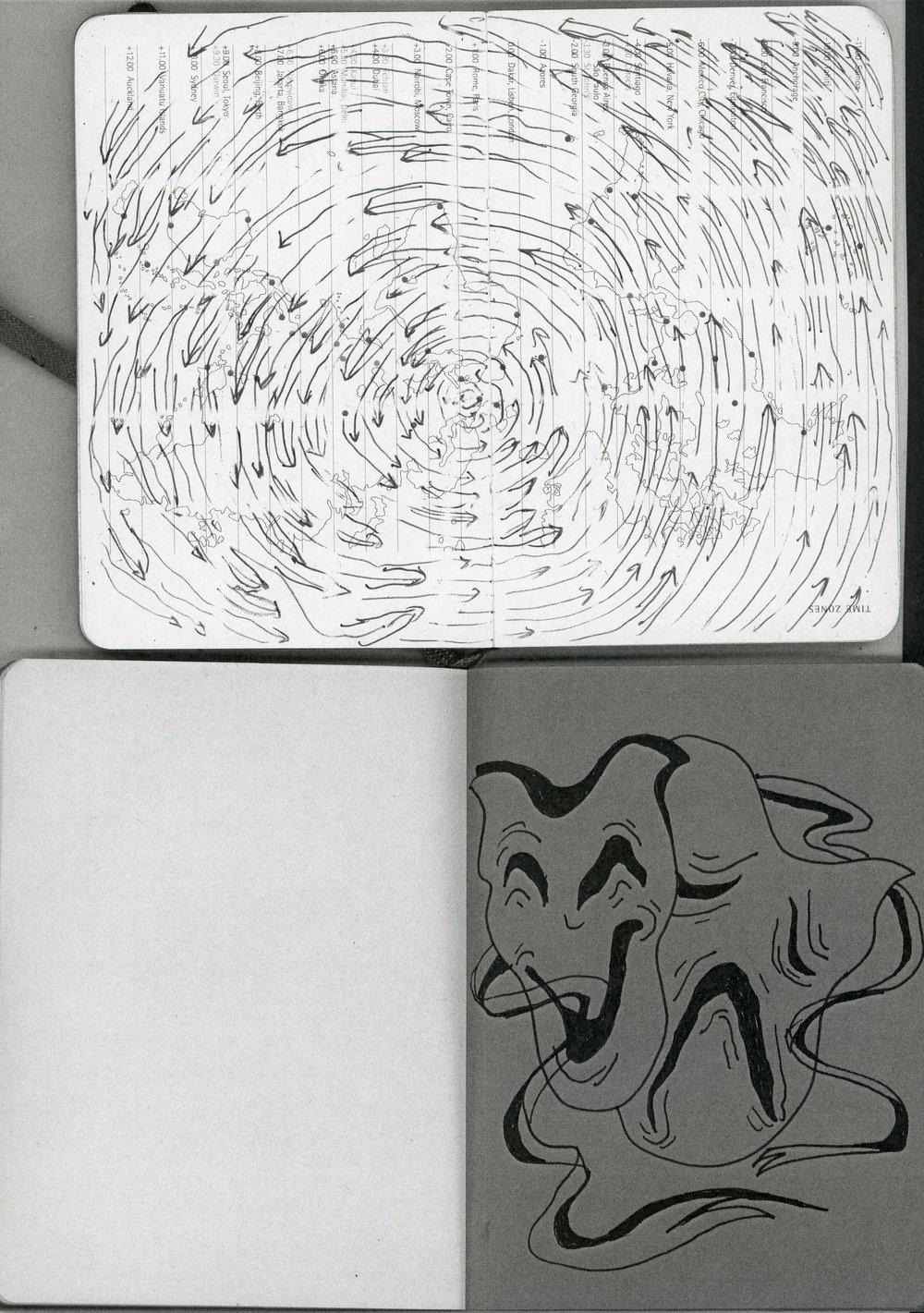 21.0 x 29.7cm black and white print  2018 Agenda & Coloured Booklet