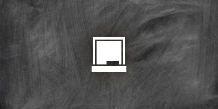 blackboard icon, chalkboard icon