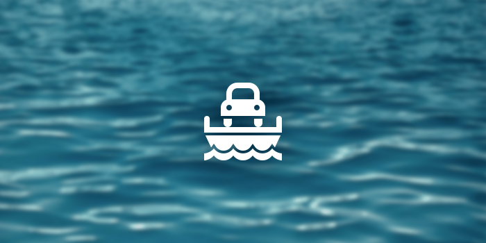 Car Ferry Icon