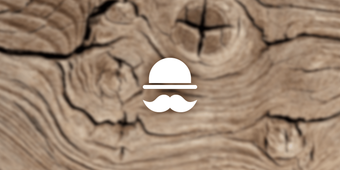 mustache and hat icon
