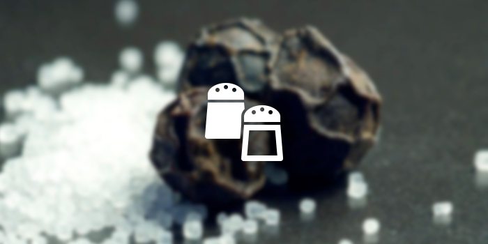 salt pepper icon