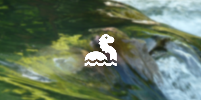 lake monster icon