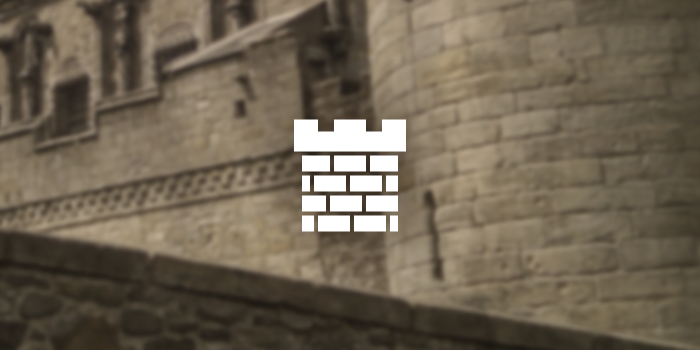 castle turret icon