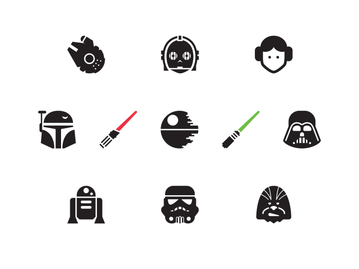 √ Star Wars Vector Images