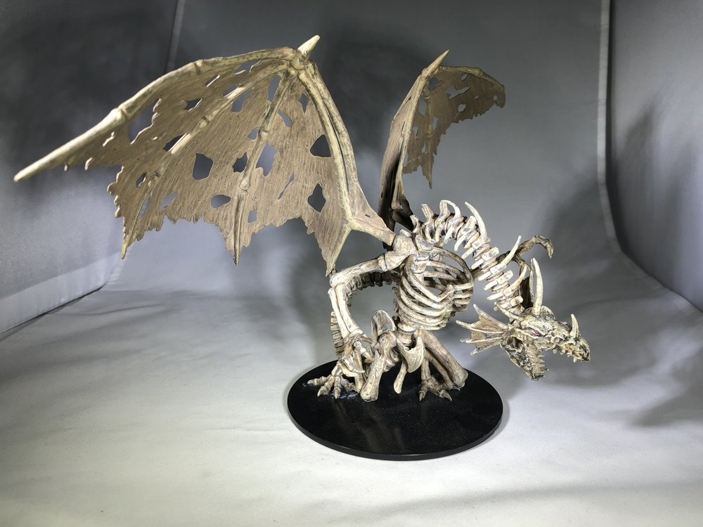 Gargantuan Skeletal Dragon