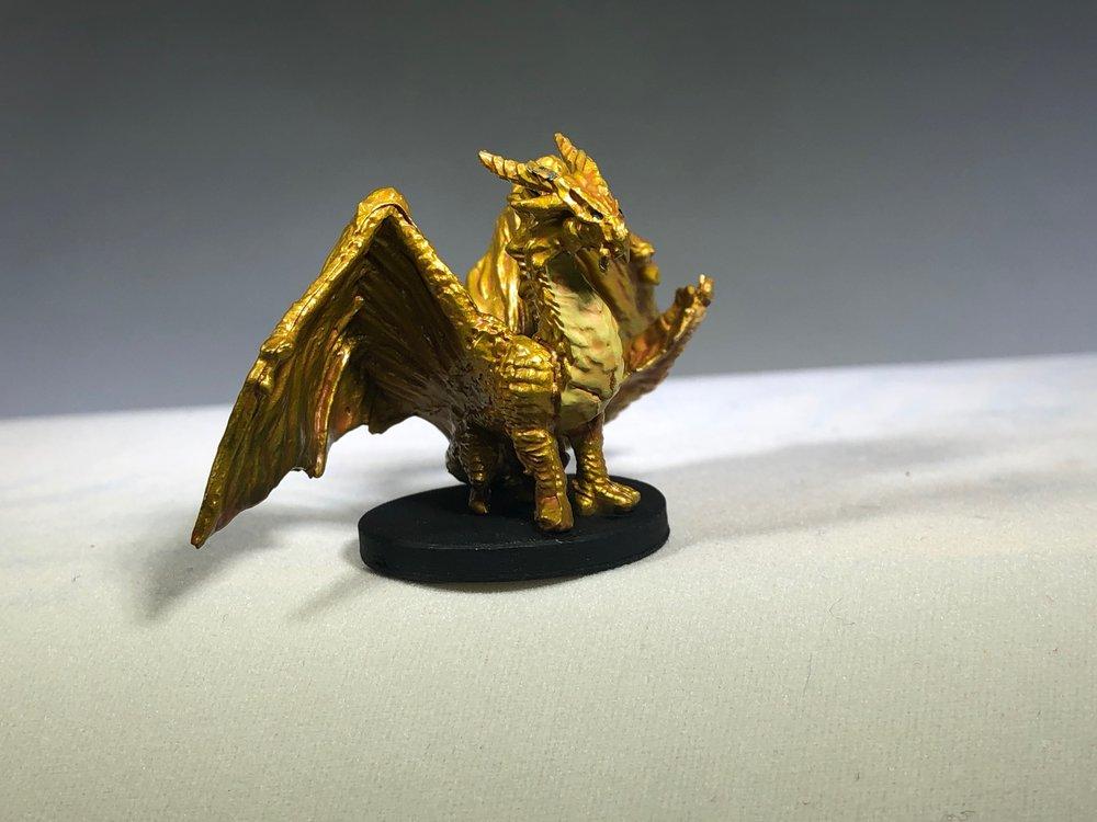 Gold Dragon Wyrmling