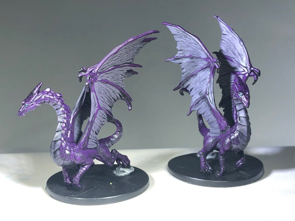 Adult Purple Dragon