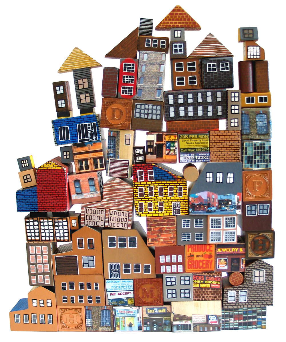 """Block City"" by Laura Wennstrom"