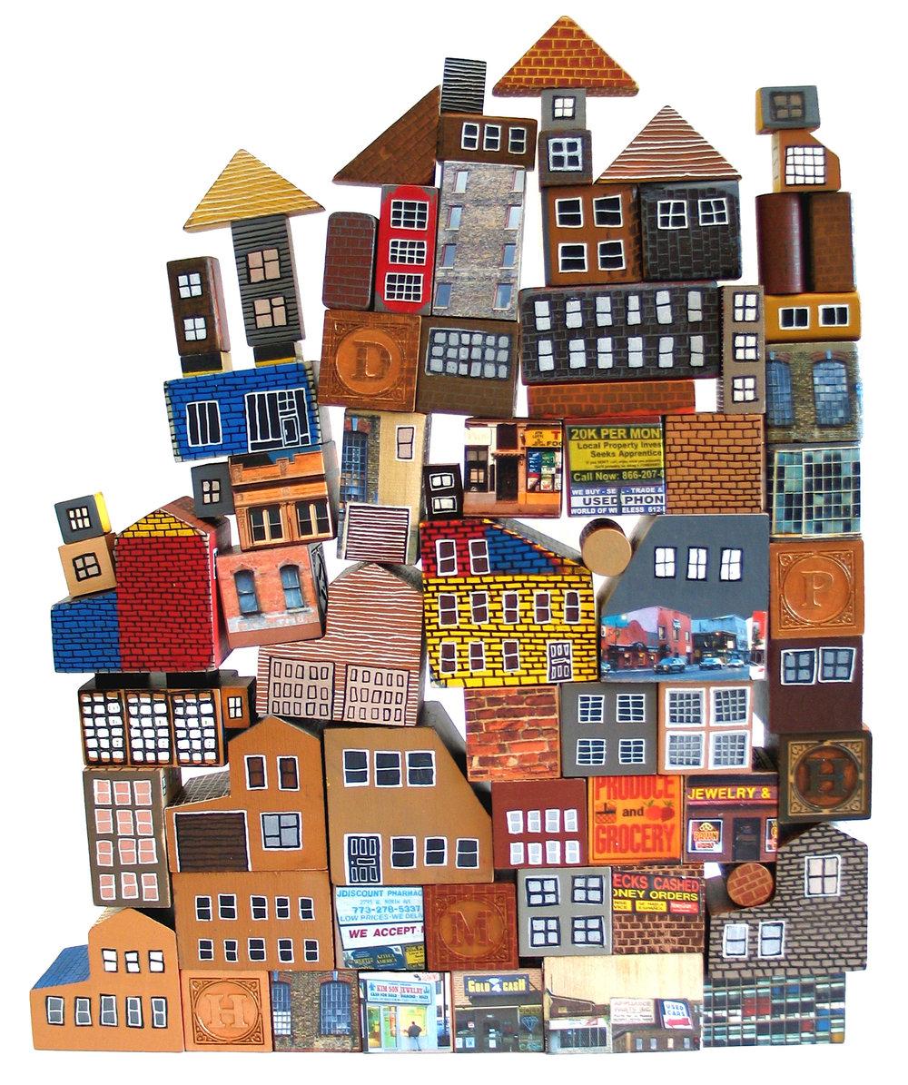 """""""Block City"""" by Laura Wennstrom"""