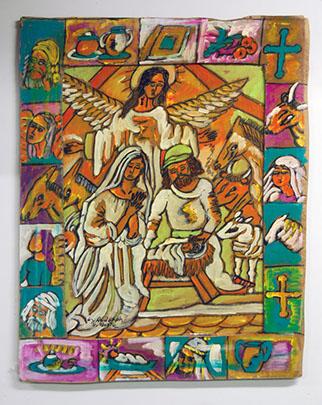 Nativity with Angel