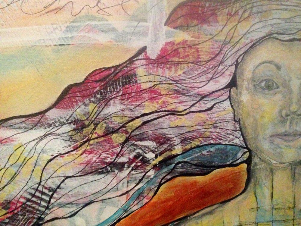 """I am commanding calm"" by Jennifer Kramer"