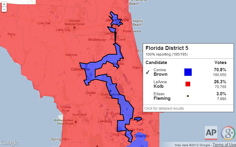Democratic Gerrymandering (Florida)