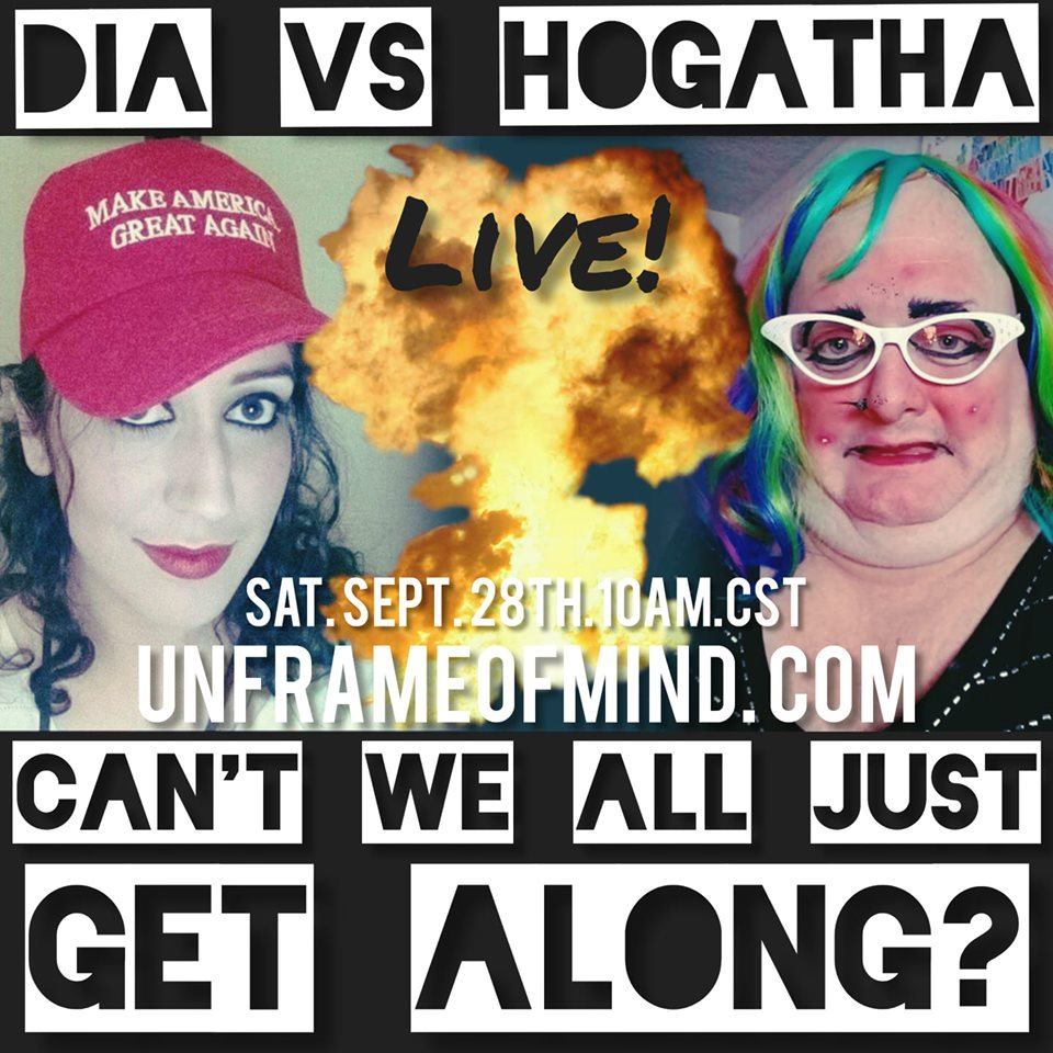 "122: The ""Can't We All Just Get Along"" Show - Feat. Dia Beltran and Hogatha Cysty"