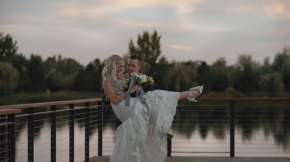 boise wedding video
