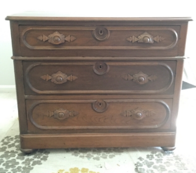 This antique Eastlake dresser- which will be available as-is or as a custom order that would be ready in 3-4 weeks!
