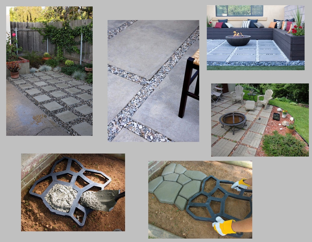 Patio Inspiration Board- sources via Pintrest