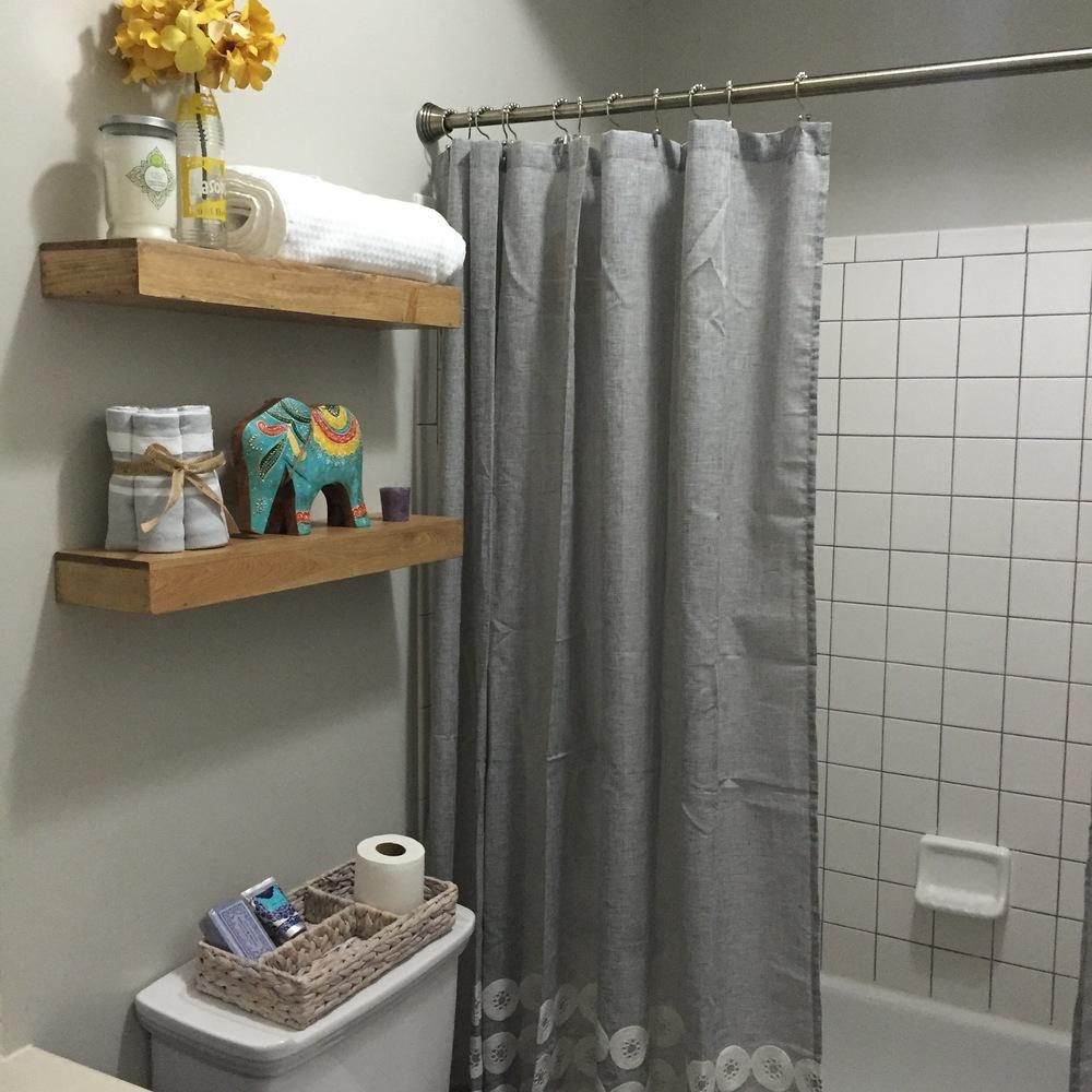 Builders Grade Bathroom Makeover Alchemy Home – Bathroom Knick Knacks
