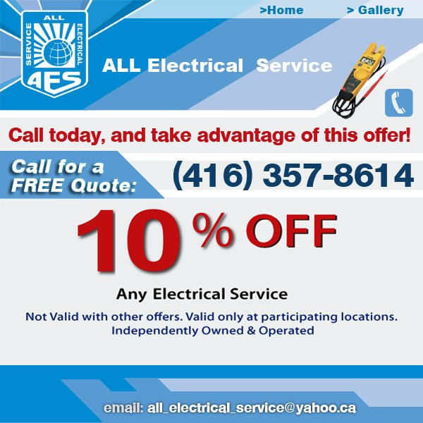 Electrical service contact us