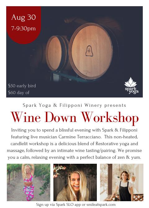 Wine Down Workshop