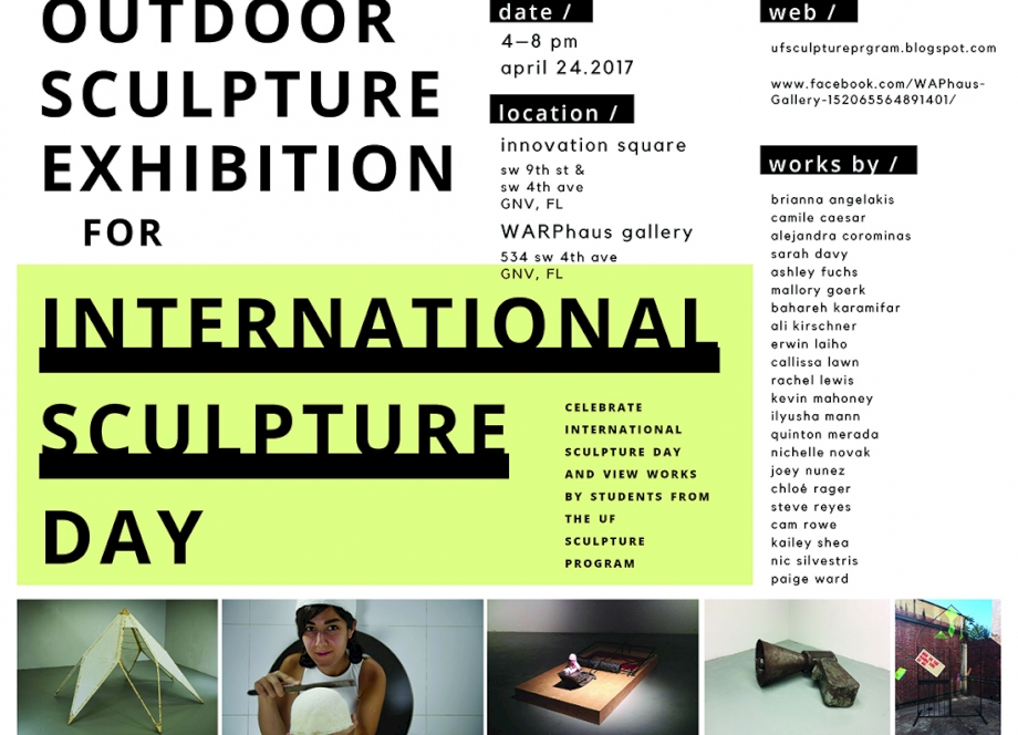 Outdoor Sculpture Exhibition for International Sculpture Day