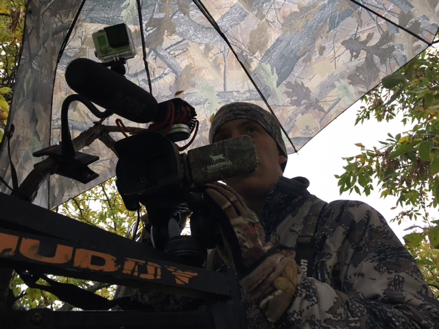 Better communication between a hunter and cameraman will lead to higher quality footage.