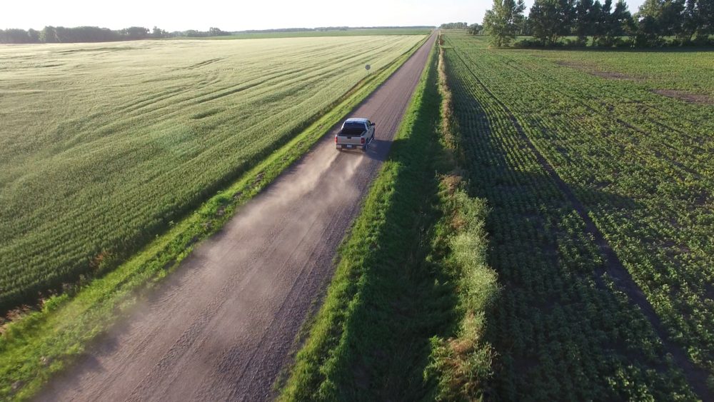 Gravel road detours become a common thing for me this time of year.