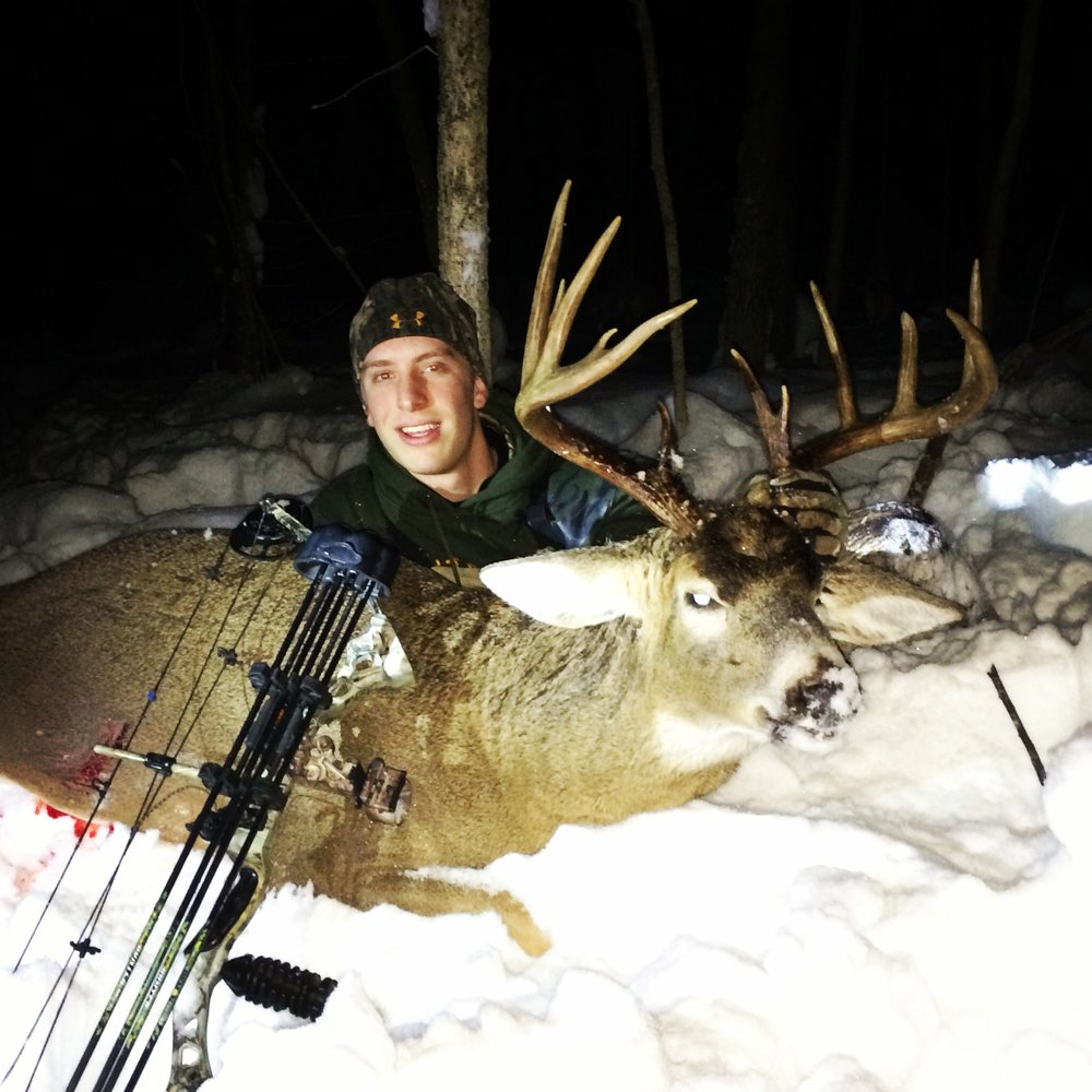 In 2013 (the last time I spent extensive time hunting the city hunt), I was able to shoot this buck in December.