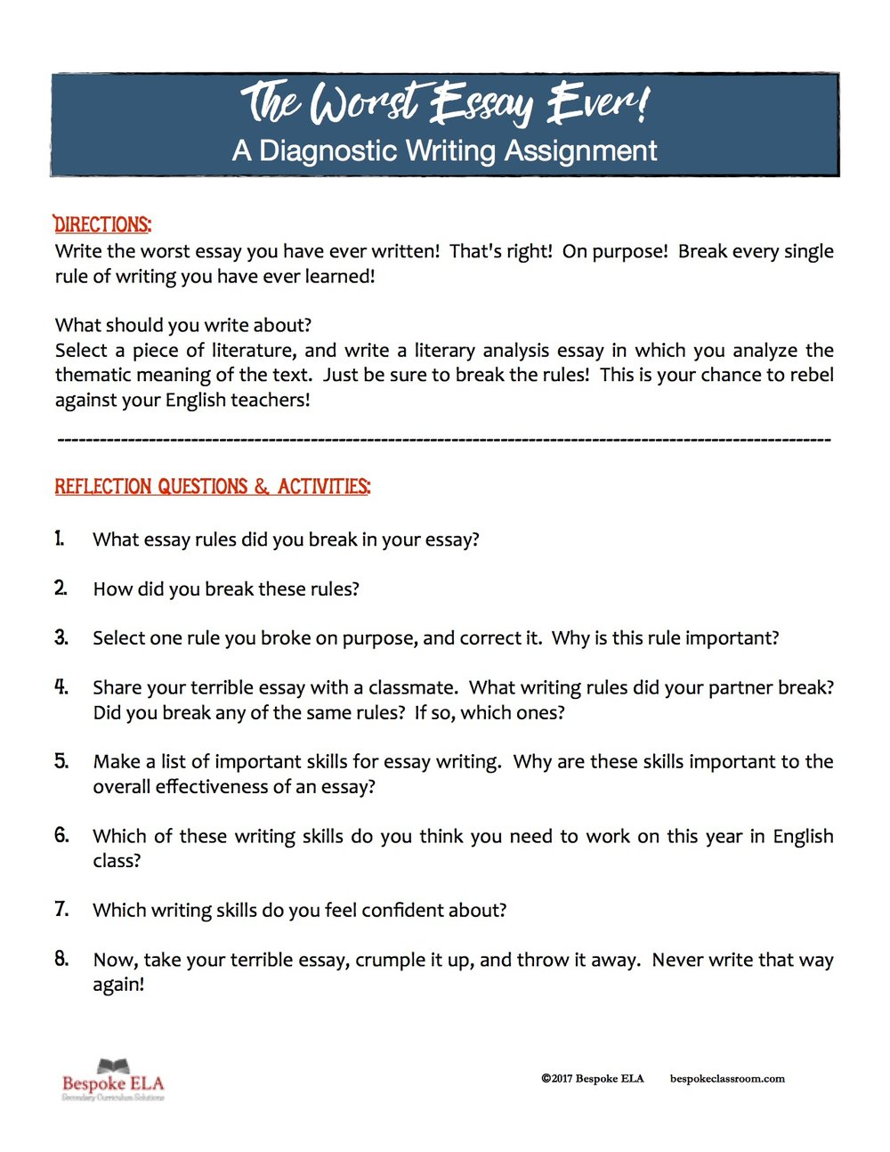 Essay writing form 4 picture 6