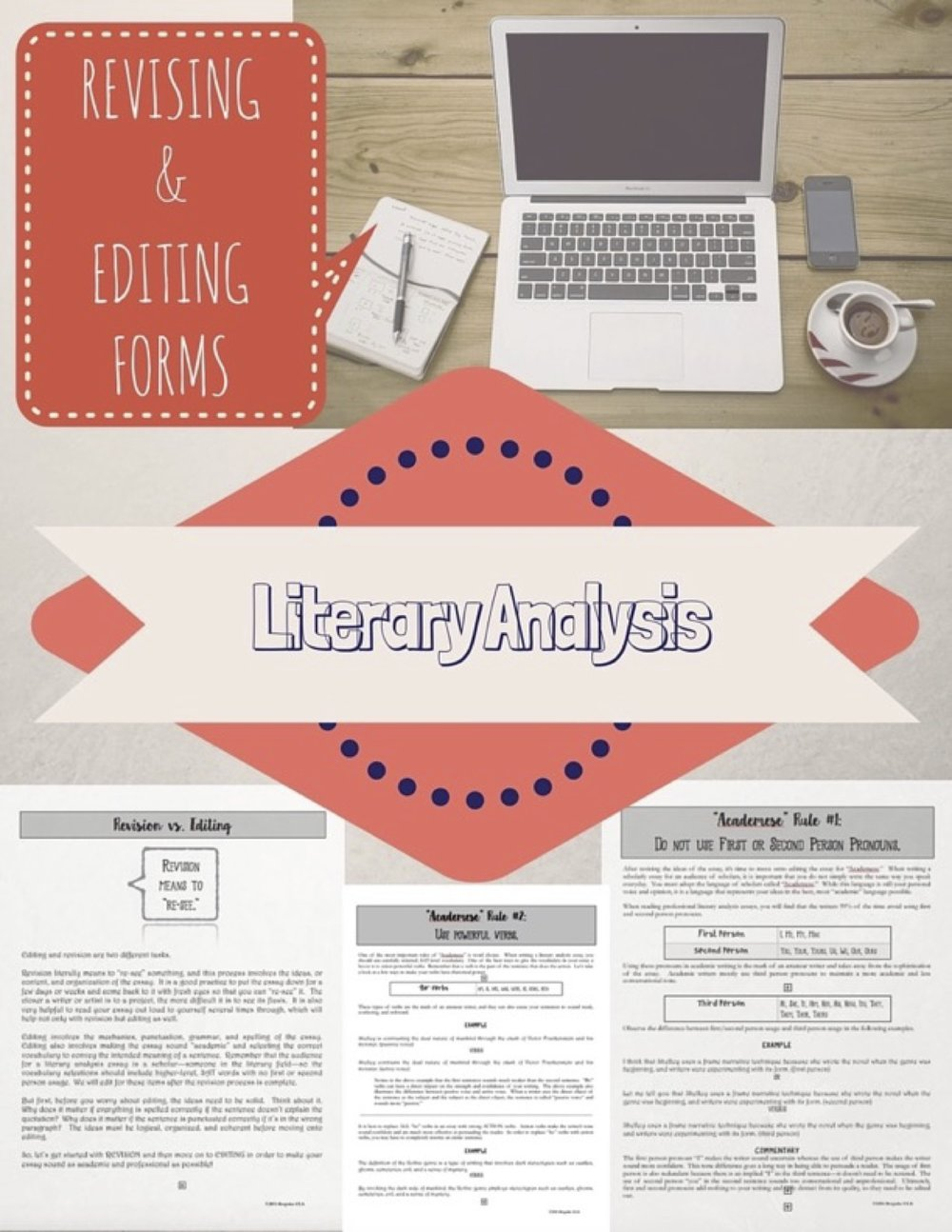 Revision and Editing Forms for the Literary Essay by Bespoke ELA COVER.jpg