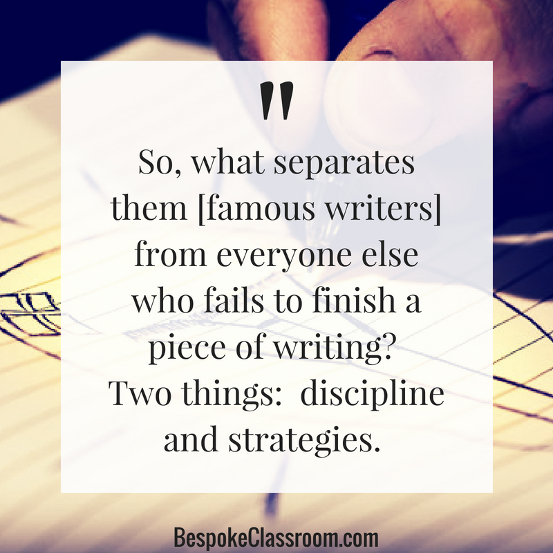 So, what separates them from everyone else who fails to finish a piece of writing_ Two things_ discipline and strategies..jpg