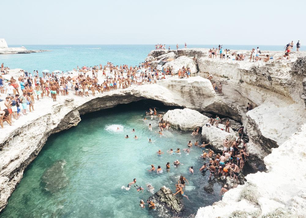 Grotta della Poesia I & Grotta della Poesia II -