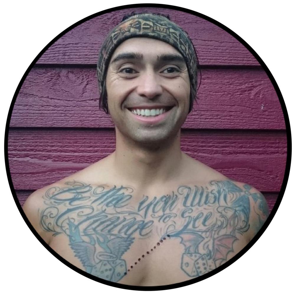 Medicine Path - Kambo Cleanse 3x3 Warriors Initiation Selfie