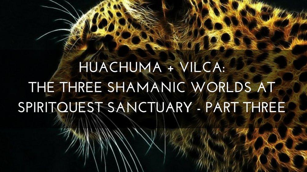 Medicine Path Huachuma + Vilca Three Shamanic Worlds at SpiritQuest Sanctuary
