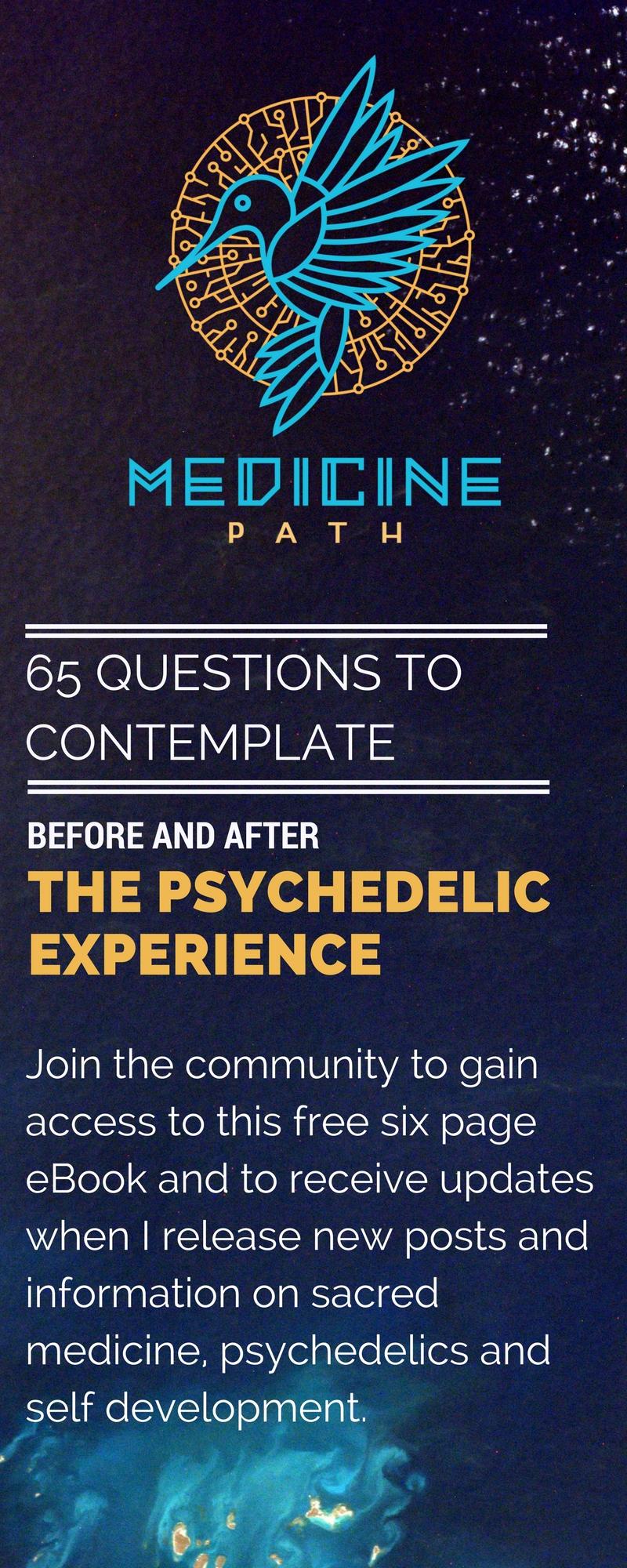 Medicine Path 65 Questions