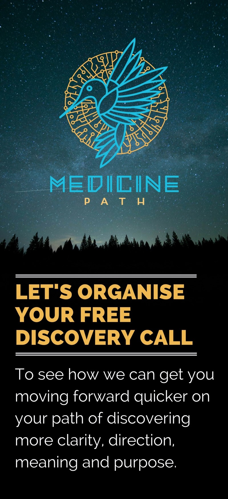 Discovery Call Banner Medicine Path