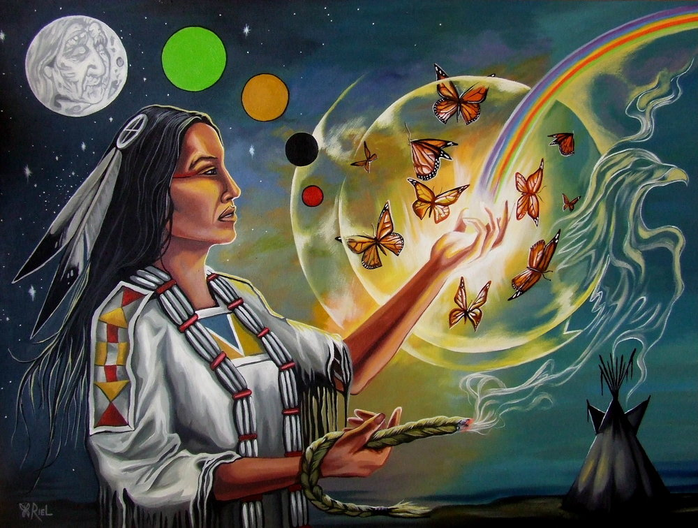 Artwork: Reclaiming Womyn's Medicine by Unknown Artist