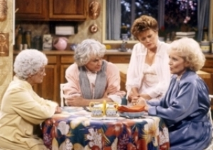 Our book club was  Golden-Girls  awesome.